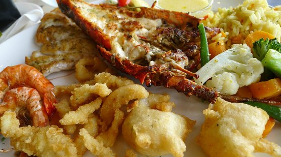 Barracudas: 250gram crayfish and others
