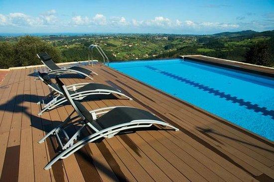 Apartamentos Turisticos Rurales Laboz: Piscina