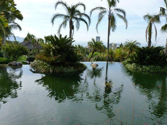Barcelo Asia Gardens Hotel & Thai Spa : VUE SUR ALICANTE