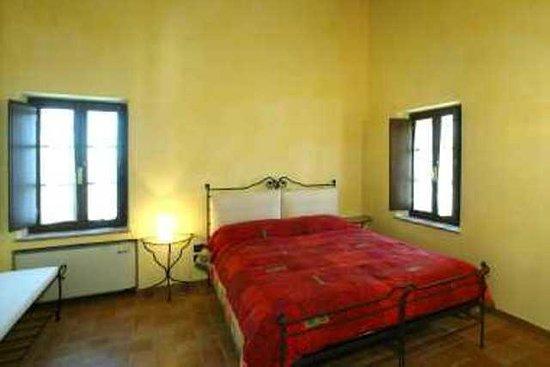 La Rotonda in Chianti: camera da letto