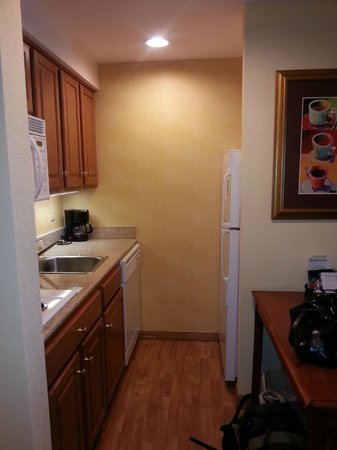 Homewood Suites Valley Forge: Fully stocked kitchen with dishware and cooking utensils