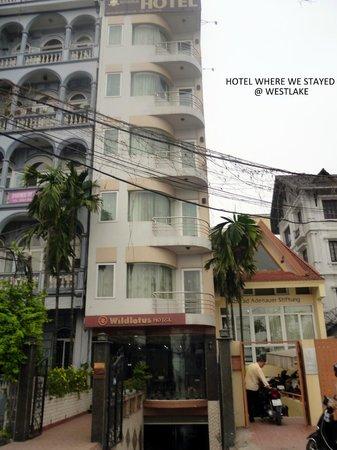 Wild Lotus Hotel: hotel