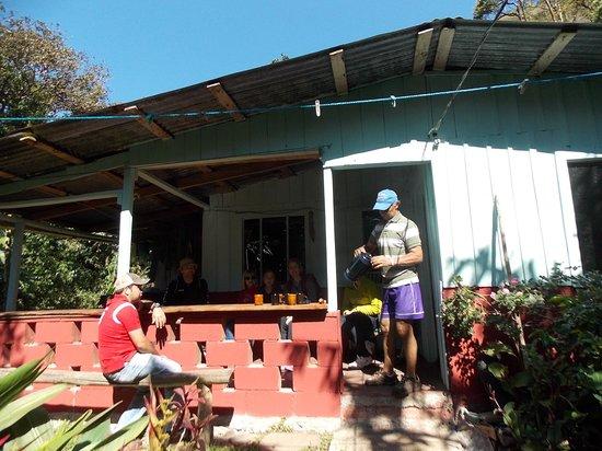 Santa Elena Cooperative Coffee Tours: Plantagehuset med hygge efter plantagetouren