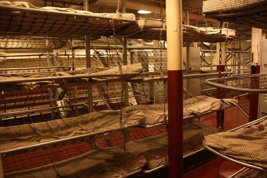 Sleeping Quarters Picture Of Battleship North Carolina