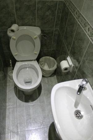 Pensión Juanita: WC