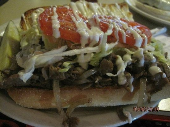 Trolley Stop Inn: Steak Hoagie