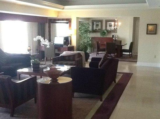 Living room area of the Lindbergh suite - Picture of Hyatt Regency ...
