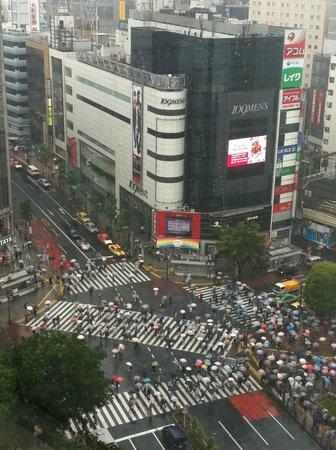Shibuya Excel Hotel Tokyu: lively city