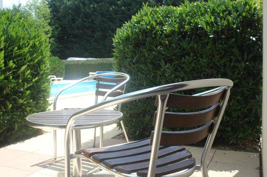 Tremeur, Frankrijk: Terrasse d'une chambre