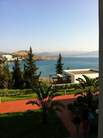 Lindos Mare Hotel: view from our balcony,  lovely!