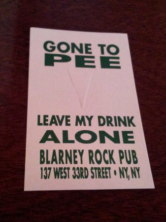 Blarney Rock Pub : Handy