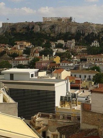 AthenStyle Hostel: view from roof