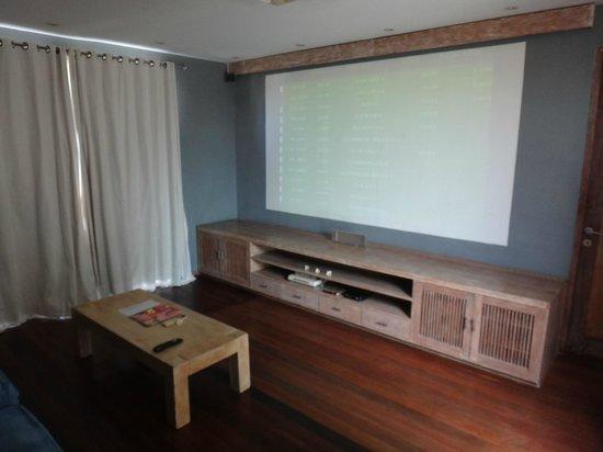 Villa Casa Mateo: Theatre Room