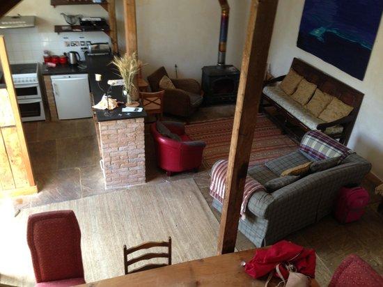 Talton Lodge: Downstairs in the barn