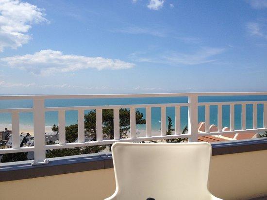 Les Villas du Spa : La vue de la terrasse
