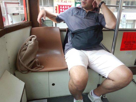 North Point, Hong Kong: トラムの車内
