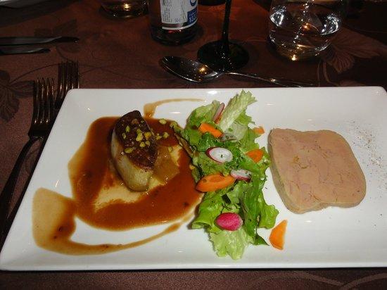 Au Coq Blanc : Foie gras