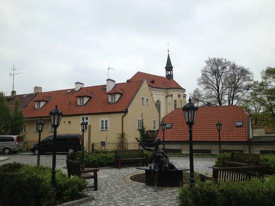 Lindner Hotel Prague Castle: grounds