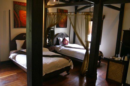 Ramayana Boutique Hotel: Lekker koele kamer