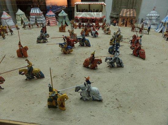 L'Iber Museo de Los Soldaditos de Plomo: Knights