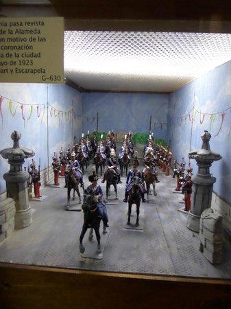 L'Iber Museo de Los Soldaditos de Plomo: classic scene