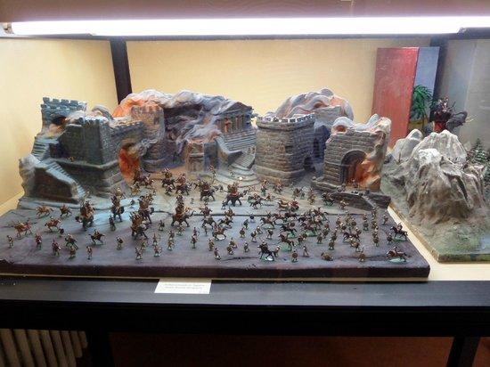 L'Iber Museo de Los Soldaditos de Plomo: Battles scene