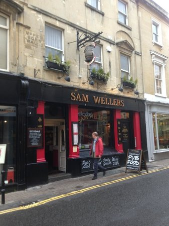The exterior of Sam Wellers