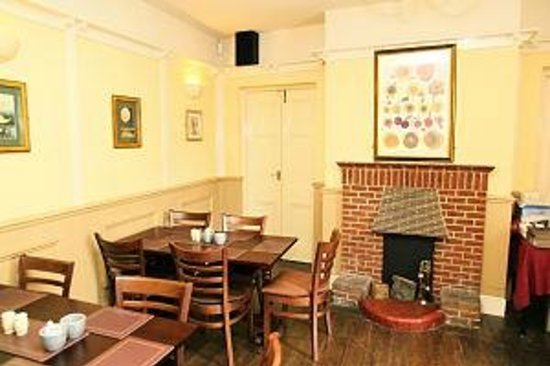 The Bell Hotel: Bell dining area