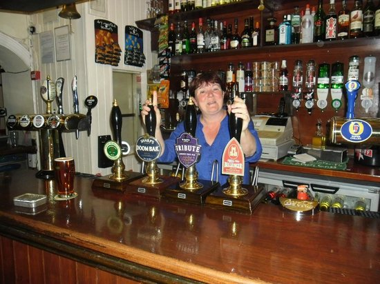 Sam Wellers: Permission to go behind the bar sir?