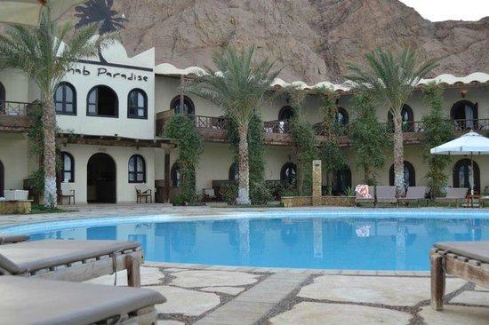 دهب بارادايس: The Pool, Dahab Paradise Hotel