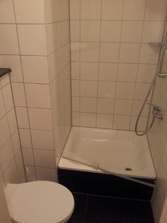 Premiere Classe Frankfurt-Offenbach: Small bathroom/shower