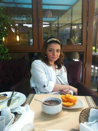 Sultanahmet Park Hotel: Дочка )