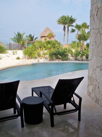 Secrets Maroma Beach Riviera Cancun: View from our Private Pool