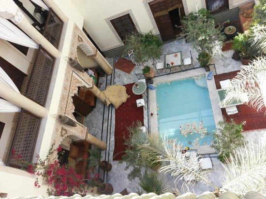 RIad Al Loune: The courtyard