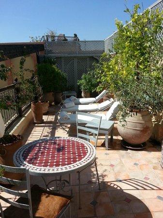 RIad Al Loune: Terrace