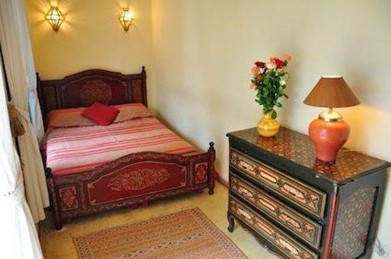 Riad de l'Orientale: Bedroom