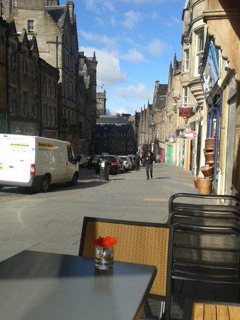 La Locanda Italian Bistro Edinburgh: Cockburn street