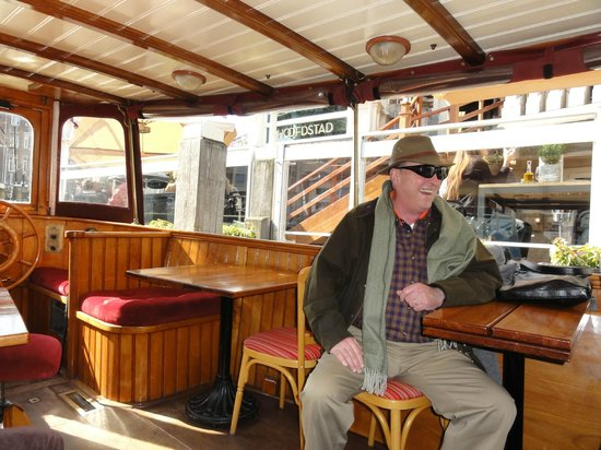 De L'Europe Amsterdam: Hotel's Exclusive Canal Boat