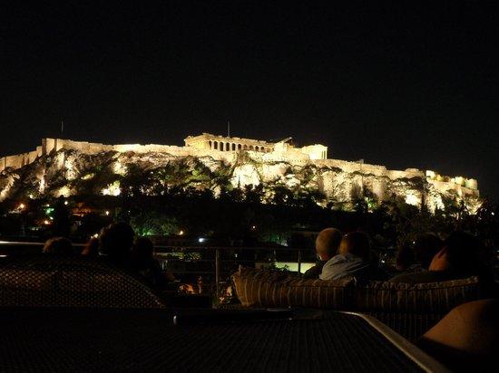 Plaka Hotel: Terraza Hotel Plaka