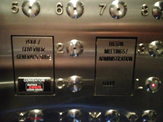 Hilton Toronto: Ruth Chris always one click away