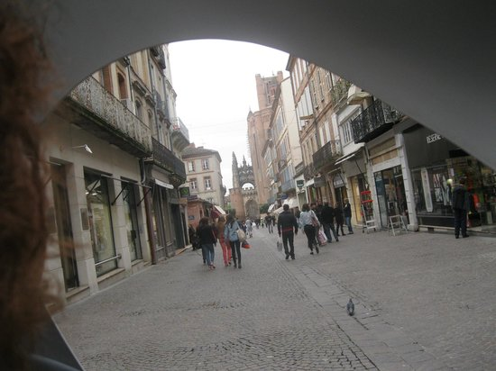 Albi, Frankreich: views from the vileo
