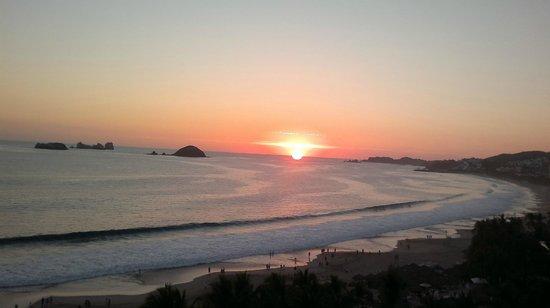 Emporio Ixtapa: atardecer
