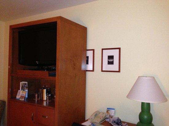 Hotel Del Sol, a Joie de Vivre hotel: Interior design issue ?