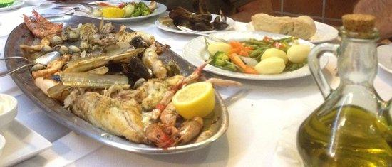 Restaurante Reno: Piatto  mariscos e pescados