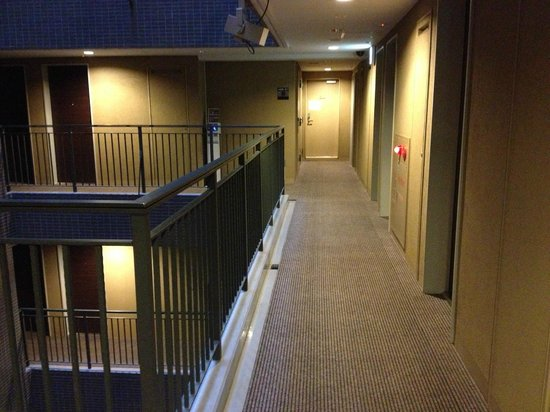 Hotel Villa Fontaine Hatchobori : Corridor