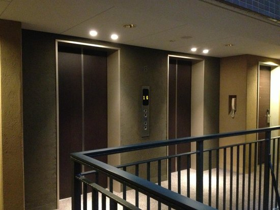 Hotel Villa Fontaine Hatchobori : Elevator hall