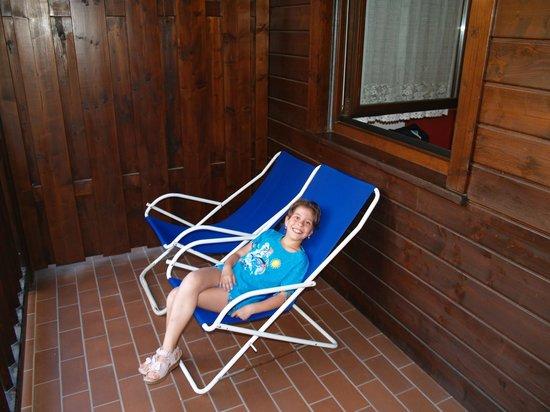 Residence Aparthotel Des Alpes: rilassarsi sul bancone dell'appartamento!