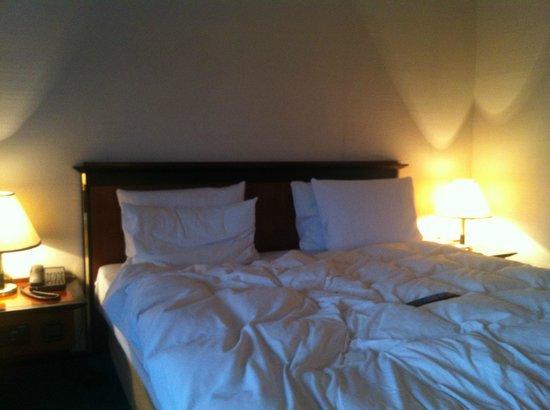 Rahat Palace Hotel: bed