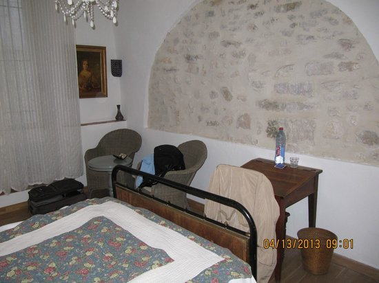 Hotel Les Remparts : notre chambre