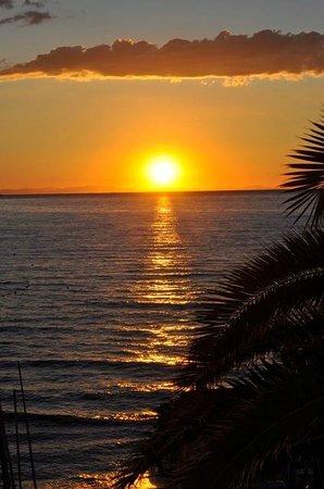 Golfo e Palme: alba